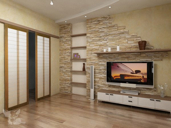 Дизайн проект интерьера 2 комнатной