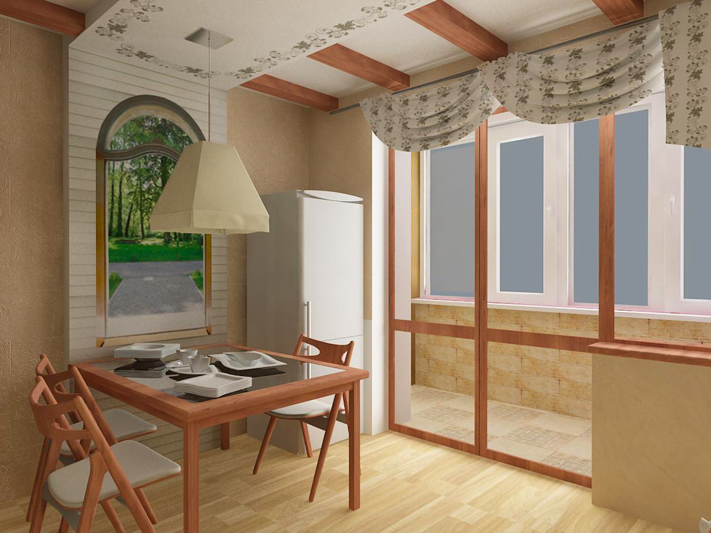Ооо Дизайн кухни в коттедже фото